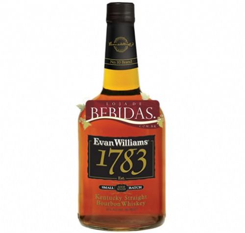 Foto Whisky Bourbon Evan Willians Kentucky 1783 750ml