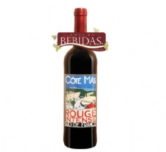 Foto Vinho Frances Côté Mas Rouge Intense 750ml